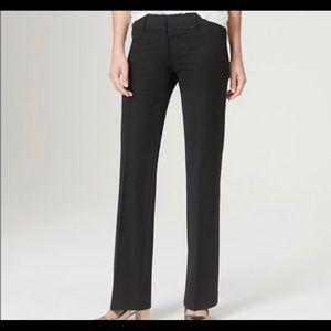 Ann Taylor Loft yulie petite Trouser Pants Black